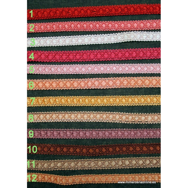 Pasamanería especial para tapizar 417c8fabc7a9