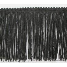 Flecos cuquillo color negro, ancho 10cm