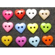 Botón forma corazón, 11 x...
