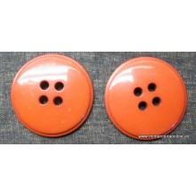 Botón marrón claro liso, 4...