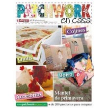 Revista Patchwork en casa...