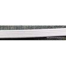 Goma, cinta elástica, 4mm, blanca o negra