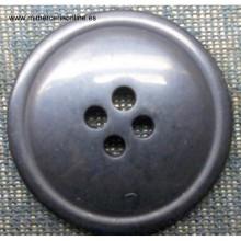 Botón de color negro 28mm