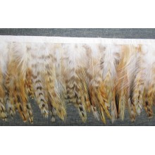 Pasamanería de plumas, 14 cm
