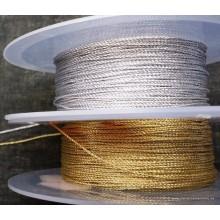 Cordón dorado o plata 1 mm,...