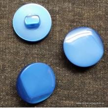 Botón azul medio con efecto...