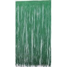 Tira de flecos color verde...