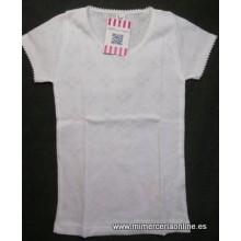 Camiseta niña, manga corta,...