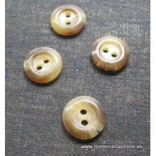 Botón tonos marrón-beige, 2...