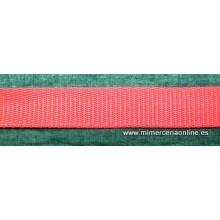 Cinta de mochila roja 4 cm