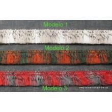 Fleco tipo lana multicolor,...