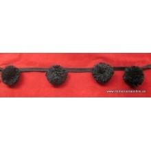 Fleco pompones lana