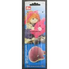 3 agujas para muñecas Prym...