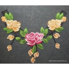 Cuello estampado flores,...