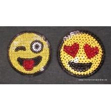 Termoadhesivo emoji,...