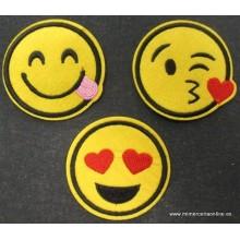 Termoadhesivos emoji,...
