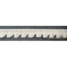 Pasamanería tipo lana con flequito en color beige 5c833e70c5d7