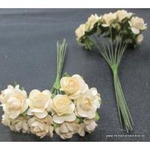Pomo flor marfil