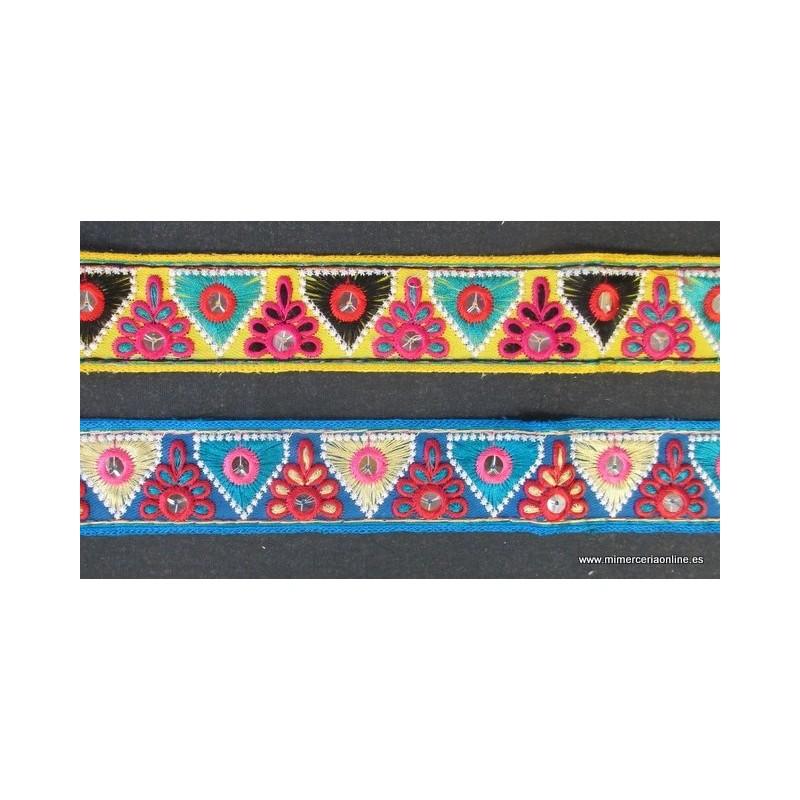 Gal n espejos tnico 3 5 cm producto ubicado en caj n fb 1 - Espejos etnicos ...