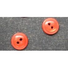 Botón rojo 2 agujeros,...