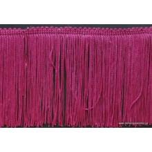 Flecos cuquillo color violeta casi fucsia, ancho 20cm
