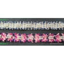 Pasamanería con perlas ,26mm