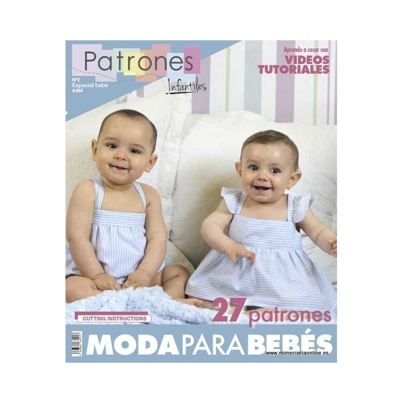 Revista patrones de costura infantil, nº 2. Especial bebé, 27 ...