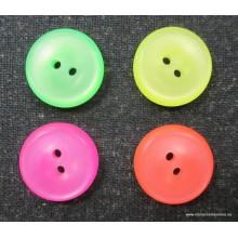 Botón flúor 17mm