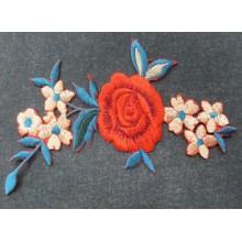 Aplique flor multicolor...