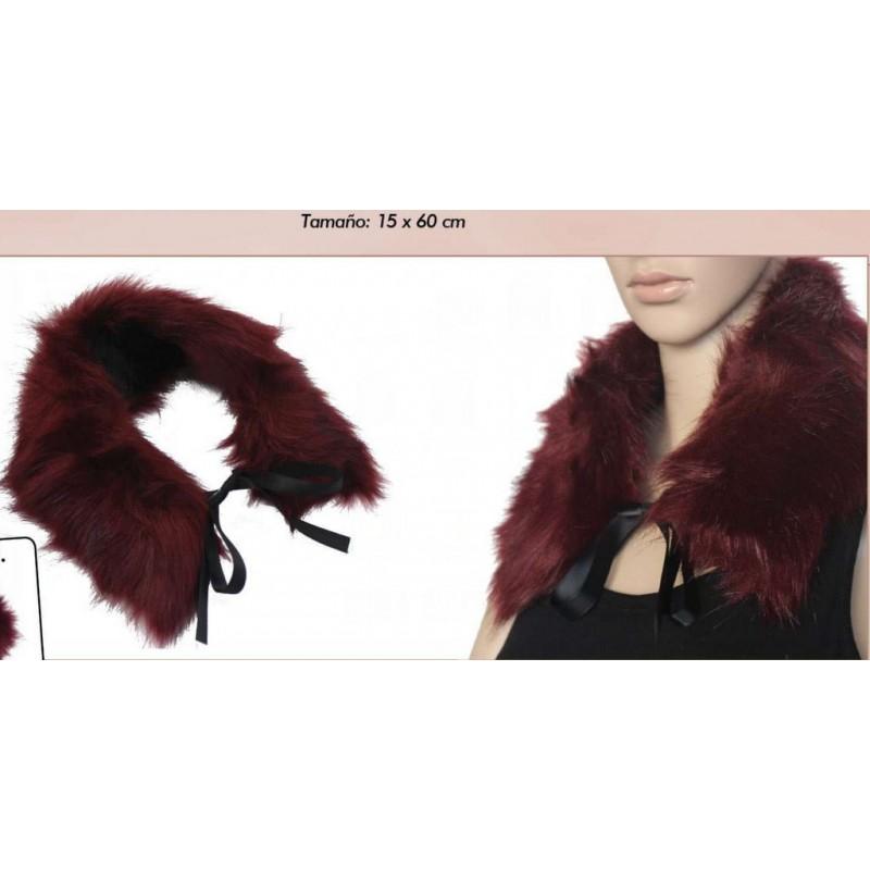 designer fashion f5d3e d5064 Cuello de pelo ecológico, 3 colores disponibles