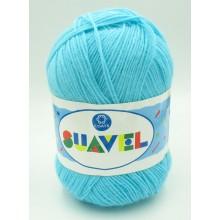 Lana Suavel azul turquesa....