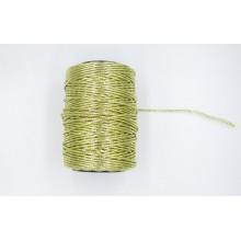Cordón oro brillante, 2 mm