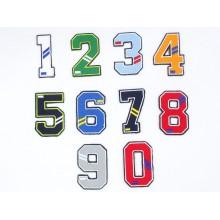 Números bordados para ropa,...