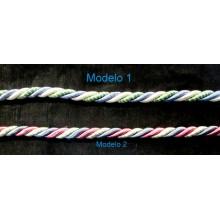 Cordón de rayón multicolor...