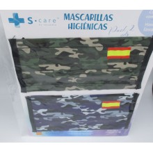 Pack 2 mascarillas...
