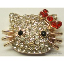 Hello kitty de brillantes,...