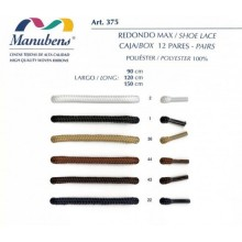 Cordón redondo de 120 cm para calzado