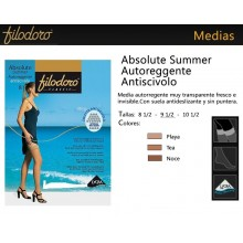 Medias con liga absolute summer anticisvolo, FILODORO