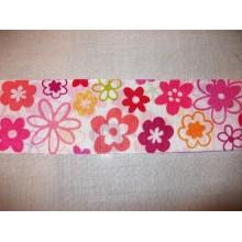 Lazo de flores tipo tafetán, 48 mm