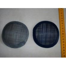 Bases para tocados, forma redonda, 11 cm
