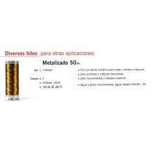Hilo metalizado (oro o...