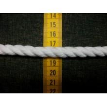 Cordón de rayón blanco, 9...