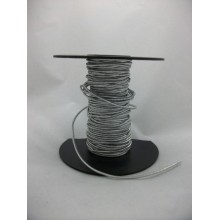 Cordón plata elástico 1,5 mm