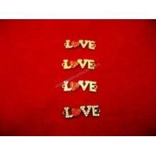 Simbolo LOVE de brillantes...