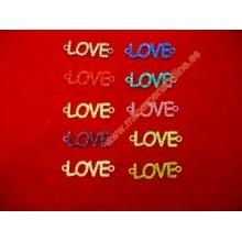 Abalorio LOVE brillantes de...