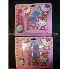 Pack HELLO KITTY reloj +...