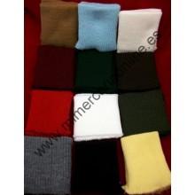 Puños elásticos de lana