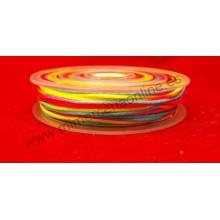 Cola de ratón multicolor, 3 mm