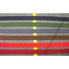 Pasamanería tipo trencilla, varios colores, 2,5 cm