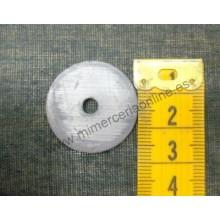 Plomo, 2,7 cm diámetro